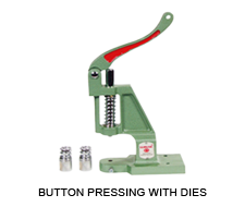 Button Pressing with Dies